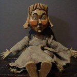 new eBay auction:  Burnt Trouble Doll Sara